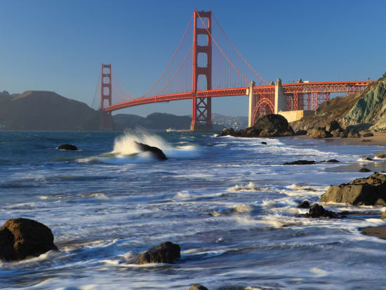 USA_San Francisco_Golden Gate Bridge