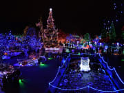 Canada_Vancouver_VanDusen-Botanical-Garden_Christmas-lights_shutterstock_782538748