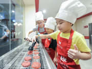 KidZania Traditional BBQ Meat Store Assistant