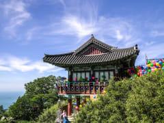 Boriam Temple atop Geumsan Mountain