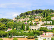 Saint Paul de Vence and its lush surroundings