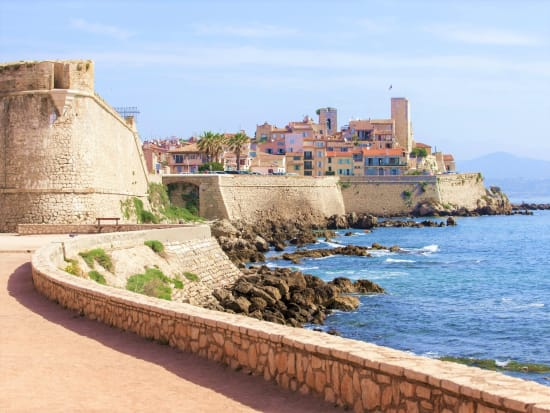 Antibes Fort and the sea