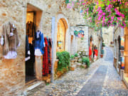 the charming streets of Saint Paul de Vence