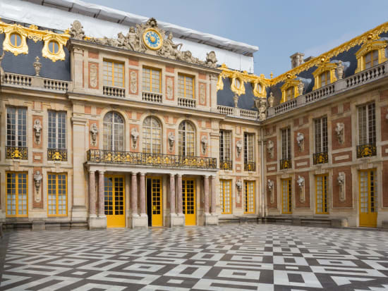 Versailles Palace entrance