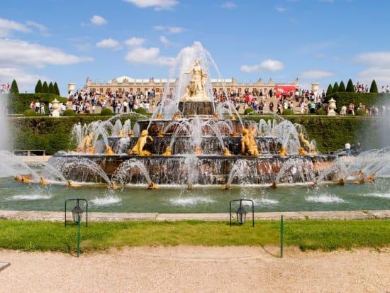 Versailles Palace fountain