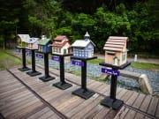 miniature houses on display in Taiwan