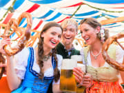 Germany_Munich_Oktoberfest_or_Dult_Beer_Pretzels_shutterstock_471652505