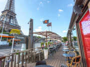 Famous Parisian restaurant near the Eiffel Tower