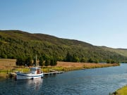 Caledonian Canal Loch Ness boat cruise