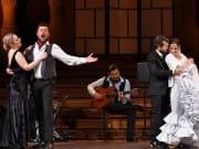 Opera singers and Flamenco dancers