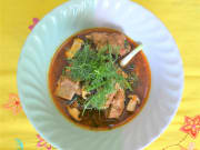 pork and mushroom curry - infusion cooking classes