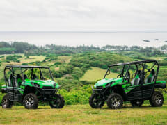 Hawaii_Oahu_Gunstock Ranch_Pinzgauer UTV