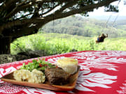 Hawaii_Oahu_Gunstock Ranch_Sunset Dinner Meal