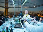 Dinner in the Sky kitchen crew
