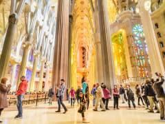 Sagrada Familia interior (2)