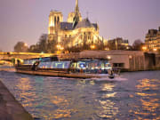 France, Paris,  Eiffel Tower, Cruise, Dinner