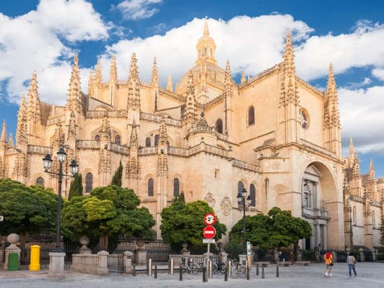 Segovia Cathedral in Town Hall