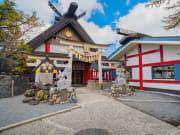 Japan_Mt Fuji_5th Station Komitake Shrine