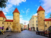 Twin Towers of Viru Gate, Tallinn Old Town