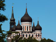 Domes of Alexander Nevsky Cathedral