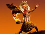 The Lion King live cast Simba