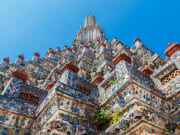 Wat Arun temple of dawn facade