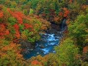 Mount Hachimantai in autumn