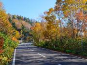 Hachimantai Aspite Line in autumn