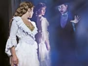 Phantom of the Opera, west end, London, mirror