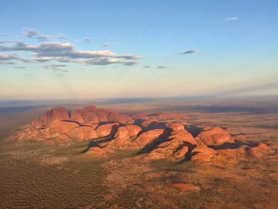 Kata Tjuta from the air