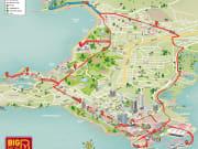 Route map darwin hop on hop off tour