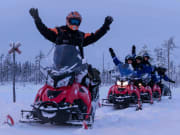 Northern Lights Snowmobile Tour from Rovaniemi (1)