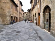 Tuscan medieval architecture in Tuscany