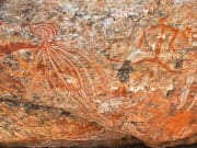 Ancient rock art in Northern Territory