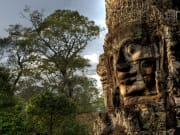 stone faces bayon temple
