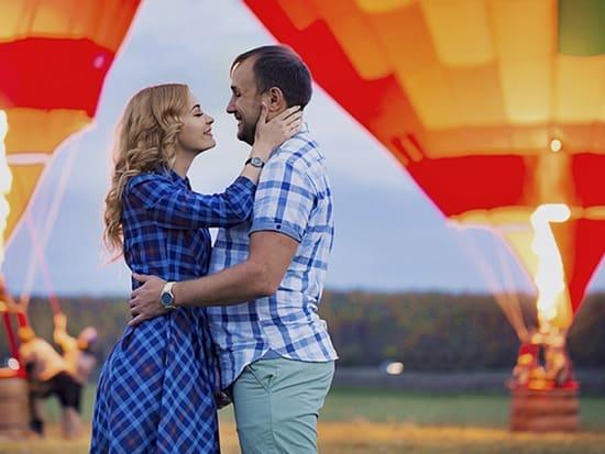 Hot air balloon wedding proposal in Prague (1)