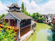 China_Shanghai_Zhujiajiao_Water_Town_shutterstock_1032065641