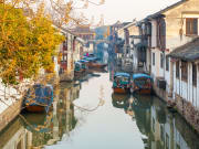 China_Shanghai_ Zhouzhuang_Village_shutterstock_605204108