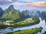 China_Guili_Li River_Karst Mountains_Shutterstock_391972480