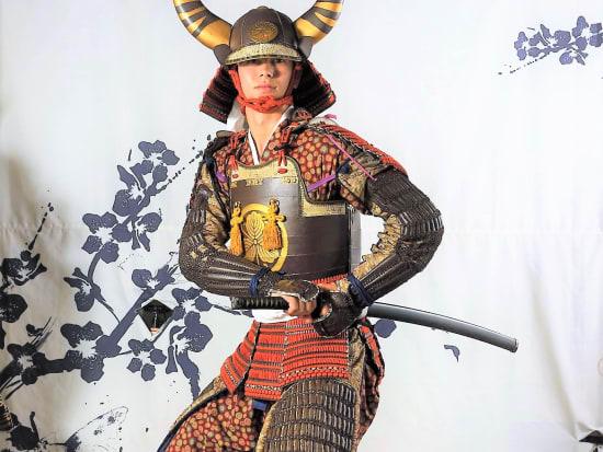 Samurai Armor Dress Up And Photo Shoot In Asakusa Tokyo Tours