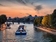 Seine River illuminated cruise
