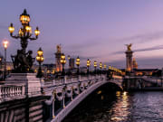 Seine River illuminated