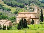 Italy, Tuscany, Abbey of Sant'Antimos