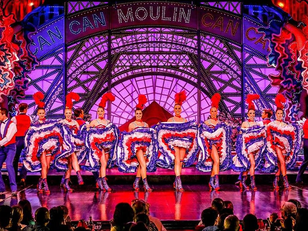 musique french cancan moulin rouge