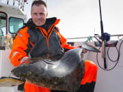 Man-with-halibut-fishing-trophy_shutterstock_192813758