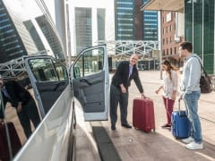 Enjoy a smooth shuttle transfer to your hotel