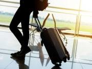Airport Terminal, Traveler, Luggage, Suitcase
