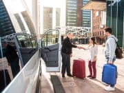 Transfer, Driver, Passenger, Car, Luggage