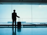airport, traveller, luggage, transfers