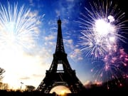 France, Paris, Eiffel Tower, Fireworks
